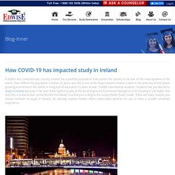 How COVID-19 has impacted study in Ireland