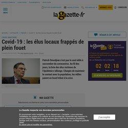 Covid-19 : les élus locaux frappés de plein fouet