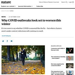 Why COVID outbreaks look set to worsen this winter