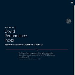 Covid Performance - Lowy Institute