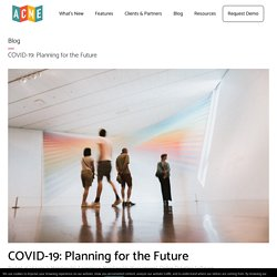COVID-19: Planning for the Future