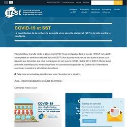 COVID-19 et santé et sécurité du travail