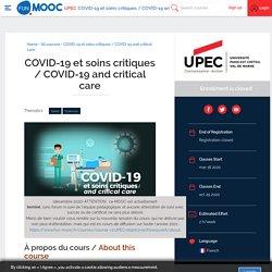 COVID-19 et soins critiques