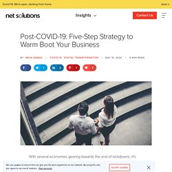 Post-COVID-19: Five-Step Strategy to Reboot Your Business