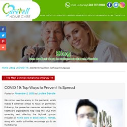COVID 19: Top Ways to Prevent Its Spread
