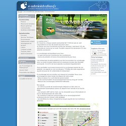 e-covoiturage - Offrir une alternative de transport innovante et écologique à vos personnels - e-administration.fr