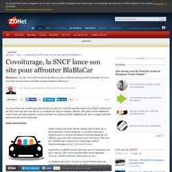 Covoiturage, la SNCF lance son site pour affronter BlaBlaCar