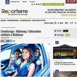 Covoiturage: Mobicoop, l'alternative solidaire à Blablacar