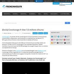 [Exclu] Covoiturage.fr lève 7,5 millions d'euros