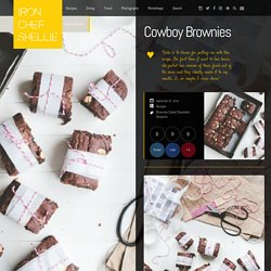 Cowboy Brownies « Iron Chef Shellie