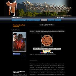 Cowboy Saddlery : Video
