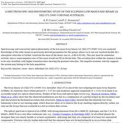 Cowley et al., V691 CrA