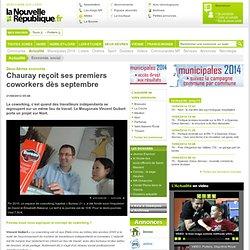 Chauray reçoit ses premiers coworkers dès septembre – Economie, social – Actualité – Deux-Sèvres