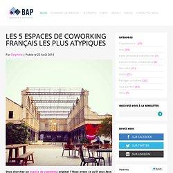 Les 5 espaces de coworking français les plus atypiques