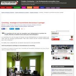 Coworking : Avantages et inconvénients des bureaux à partager