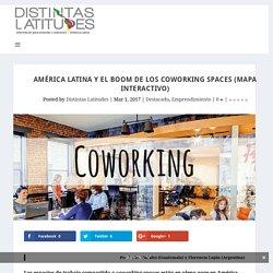 América Latina y el boom de los coworking spaces (mapa interactivo) - Distintas Latitudes