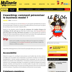Coworking; comment pérenniser le business model ?