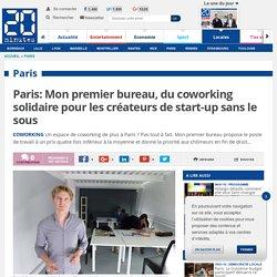Paris: Mon premier bureau, du coworking solidaire pour les créateurs de start-up sans le sous