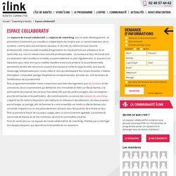 Espace de coworking, travail collaboratif - Îlink