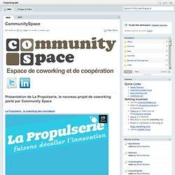 Coworking / CommunitySpace