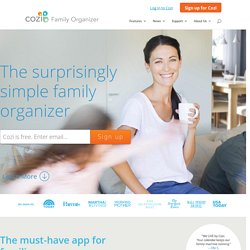 Free Online Calendar and Mobile Application For Busy Families | Cozi