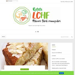 Cozonac low-carb cu lămâie – Rețete LCHF