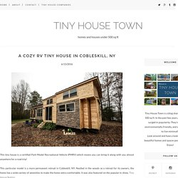 A Cozy RV Tiny House in Cobleskill, NY - TINY HOUSE TOWN
