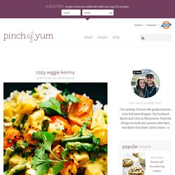 Cozy Veggie Korma Recipe