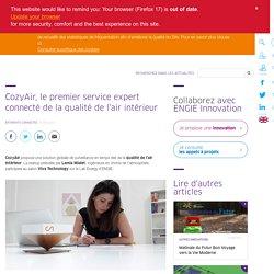 CozyAir, le premier service expert connecté de la qualité de l'air intérieur - 31/05/17
