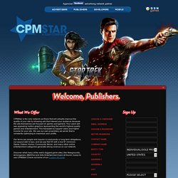CPMStar - For Web Site Publishers