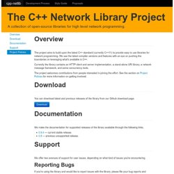 cpp-netlib: The C++ Network Library