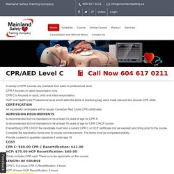 Learn Life Saving Techniques By Joining CPR/AED Course in Canada