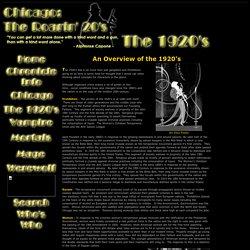 CR20: The 1920's