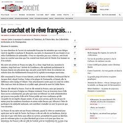 Le crachat et le rêve français…