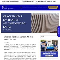 Cracked Heat Exchanger: All You Need to Know