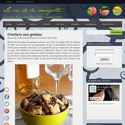 Crackers aux graines · Blog de recettes bio