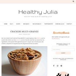 CRACKERS MULTI-GRAINES - Healthy Julia