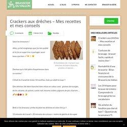 Crackers aux drêches – Mes recettes et mes conseils
