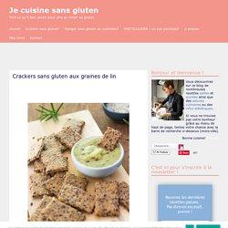 Crackers sans gluten aux graines