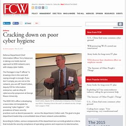 Cracking down on poor cyber hygiene