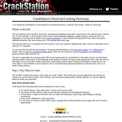 s Password Cracking Dictionary (Pay what you want!)