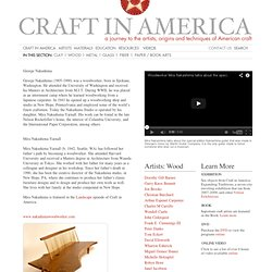 Craft In America / Nakashima, George and Mira
