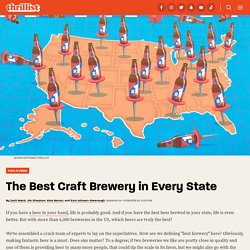 The Best Craft Brewery in Every State in America