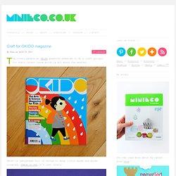 Craft for OKIDO magazine