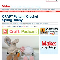 CRAFT Pattern: Crochet Spring Bunny