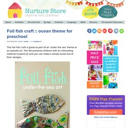 ocean theme for preschool