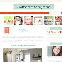 craft room | Craftaholics Anonymous™