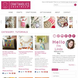 Craft Tutorials | Craftaholics Anonymous