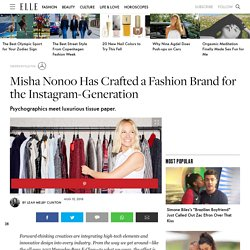 Misha Nonoo Has Crafted a Fashion Brand for the Instagram-Generation