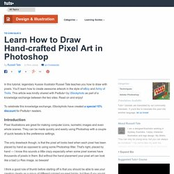Learn How to Draw Hand-crafted Pixel Art in Photoshop